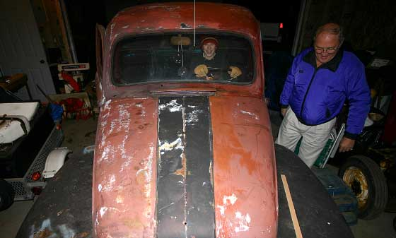 The 1948 Ford Pickup Restoration Project