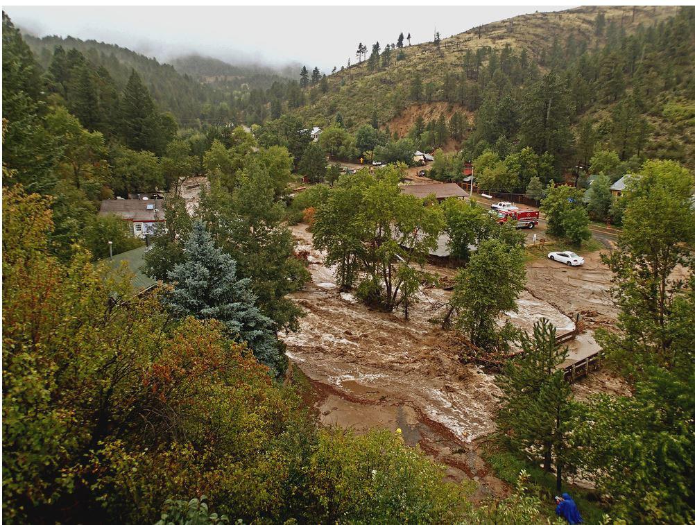Tonyrogers Com Jamestown Colorado Flood September 2013