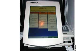 diebold voting machine fraud
