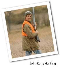 John kerry hunts