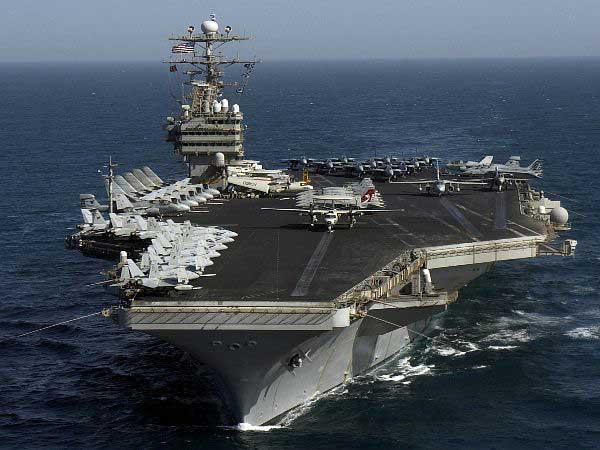 Tonyrogers com huge deployment of aircraft carriers begins