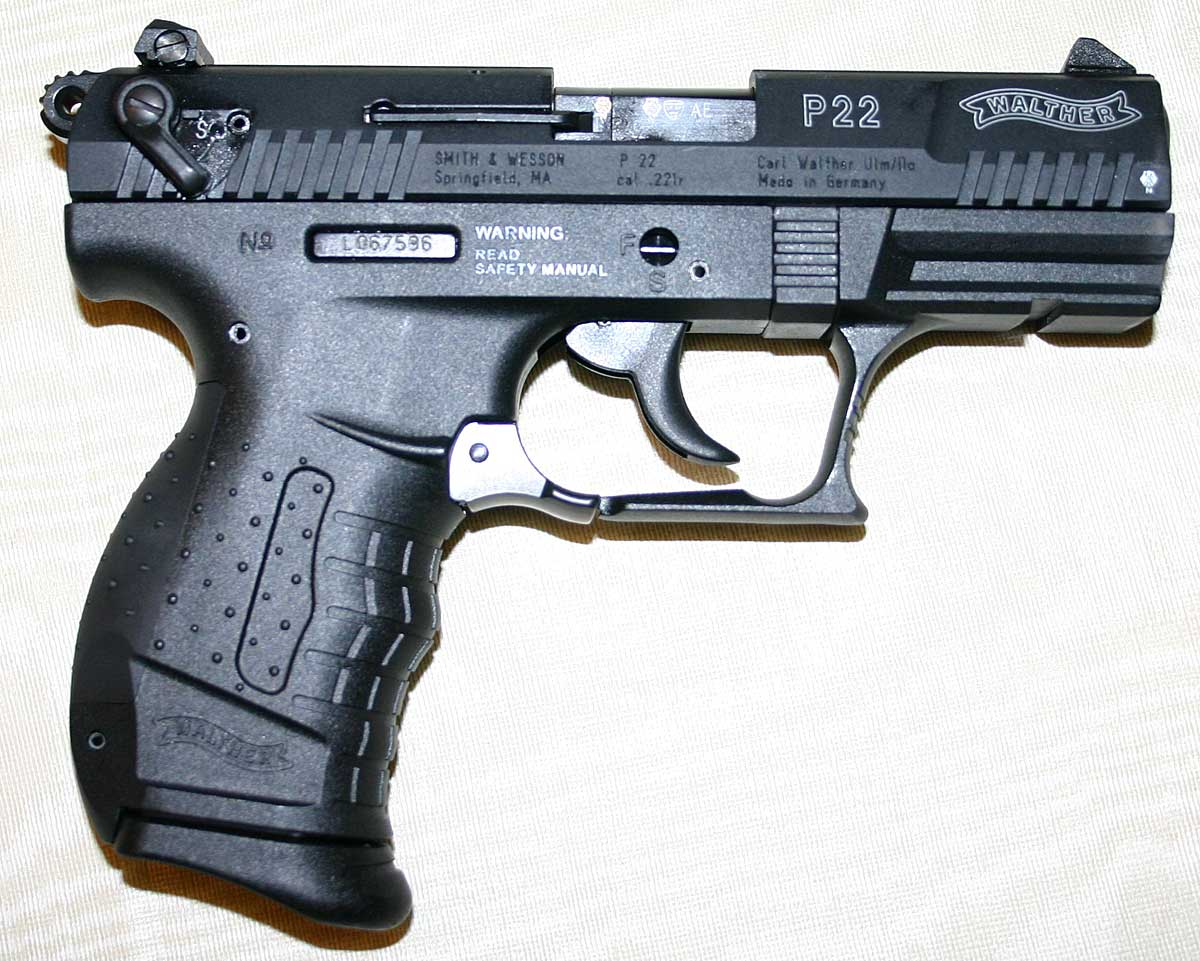 It is 75% (true scale) of the size of the Walther P99 (9mm) and has